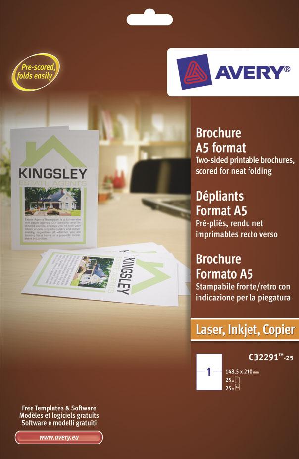brochure cordonata avery c32291